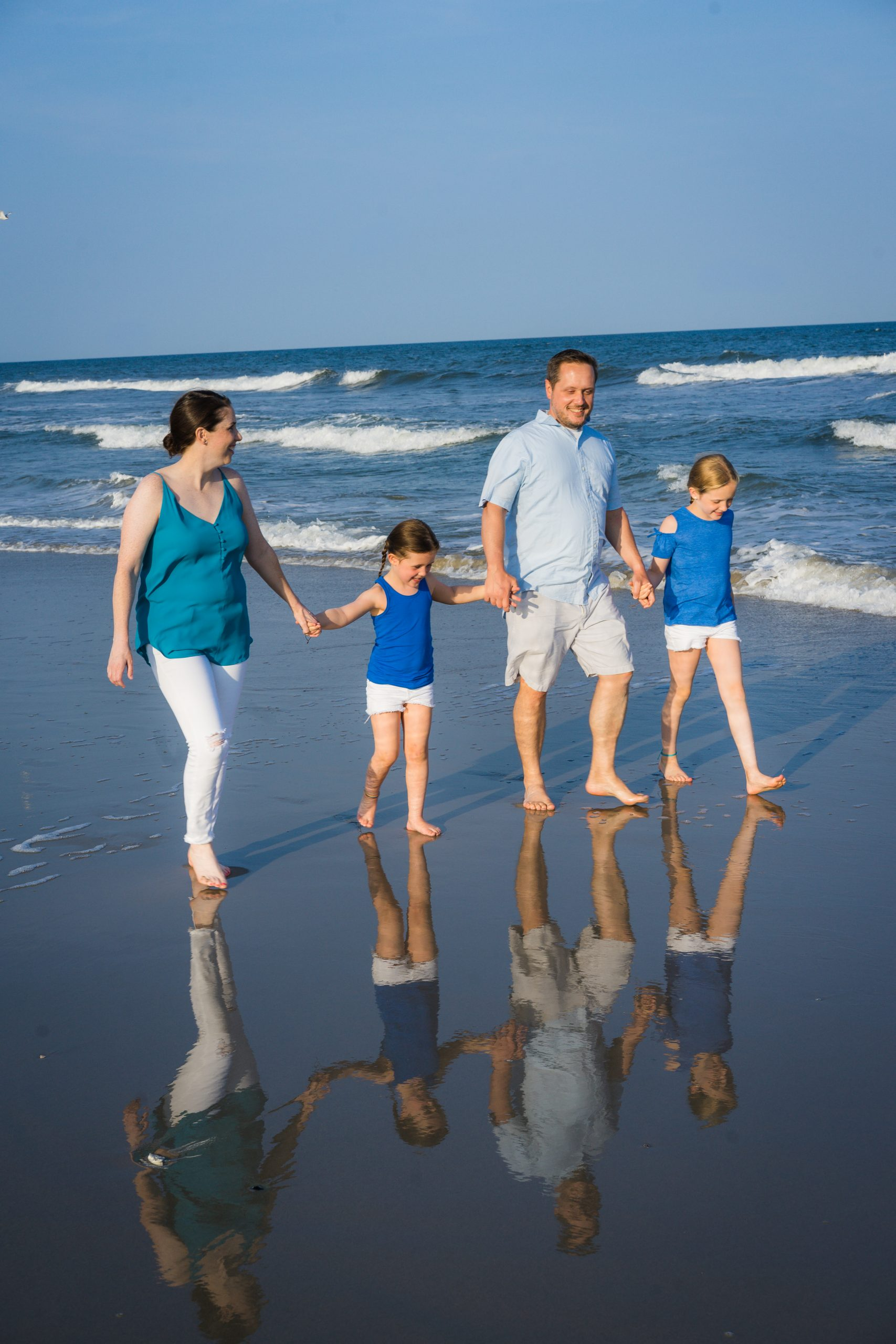Family Portraits at the Jersey Shore by Lin Ellen Studios
