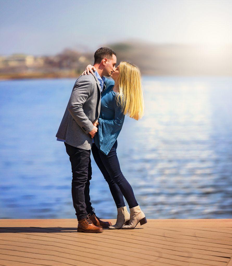 Philadelphia Engagement Shoot by Lin Ellen Studios